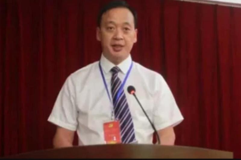 武漢市武昌醫院院長劉智明,因染上新冠肺炎病逝。(取自微博)