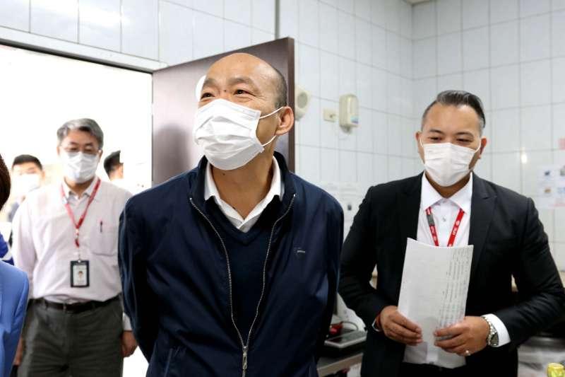 高雄市長韓國瑜(見圖)帶職參選總統失利,如今面臨被罷免危機。(資料照,高雄市政府提供)