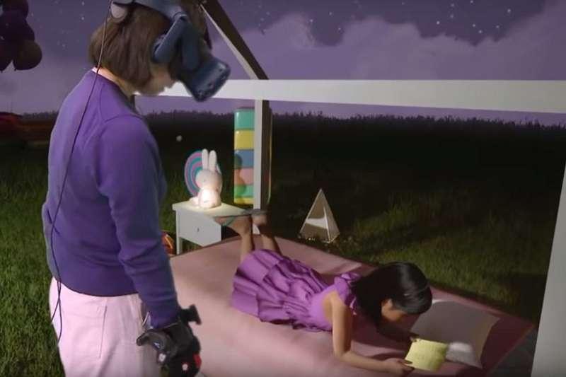 心理學家表示,張智星的體驗或許能夠幫助她應對痛失幼女所帶來的創傷。(圖/BBC News)