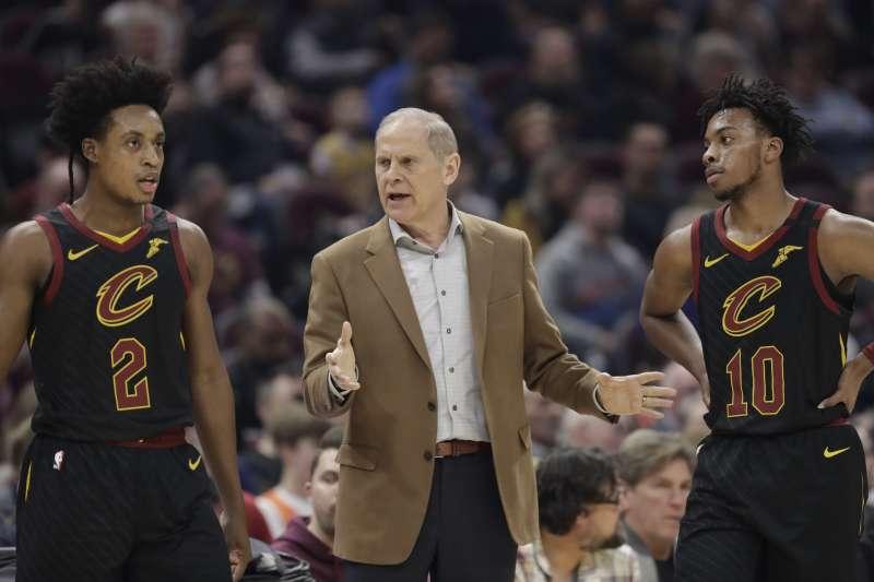 NBA克里夫蘭騎士總教練貝萊因(John Beilein)今天正式辭職。(AP)