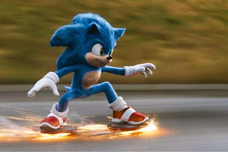 電玩改編電影《音速小子》在走過「整形風波」後,在北美開出亮眼票房成績。(圖/IMDb)