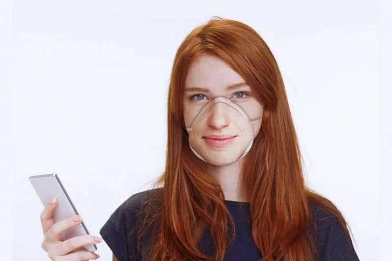 設計師丹尼爾·巴斯金(Danielle baskin)想到將臉打印在口罩上的主意,是否能騙過Face ID呢?(圖/瘋設計)