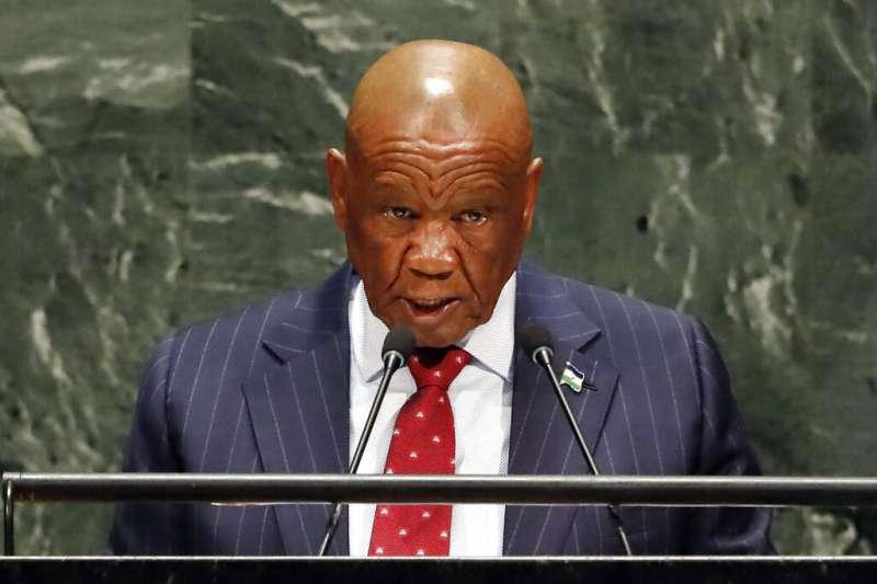 現年80歲的賴索托王國首相塔巴尼遭警方指控謀殺前妻。(AP)