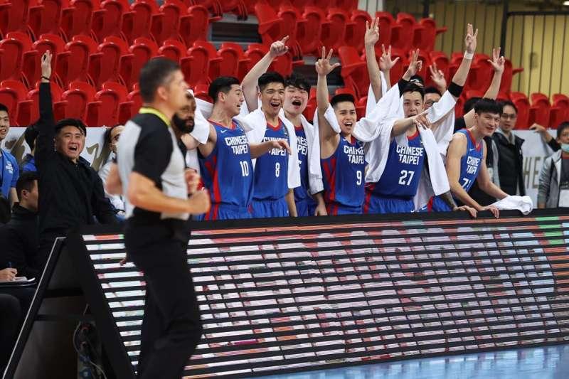 亞洲盃資格賽中華隊大勝馬來西亞104分。(取自FIBA亞洲盃資格賽官網)