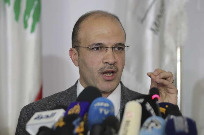 黎巴嫩衛生部長哈麥德2月21日表示,境內出現第一起武漢肺炎確診病例,患者先前到過伊朗。(AP)