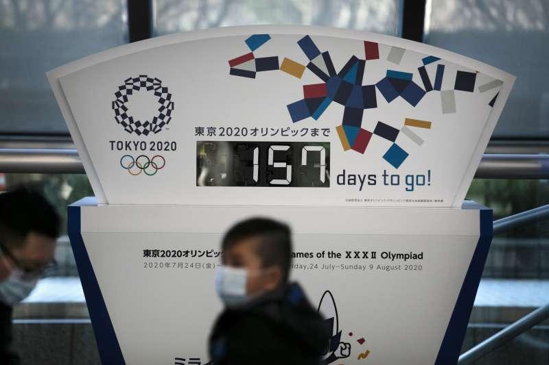 2020年武漢肺炎(新冠肺炎)疫情衝擊日本,奧運能否順利舉行大有疑問(AP)
