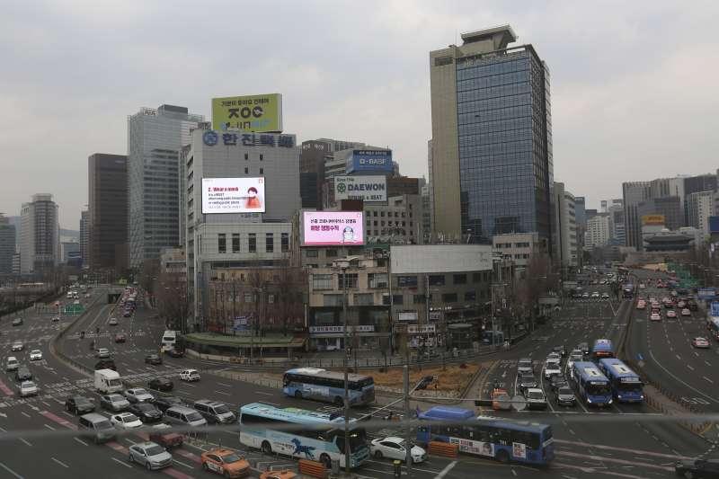 武漢肺炎(新冠肺炎)疫情衝擊南韓,首都首爾也拉警報(AP)
