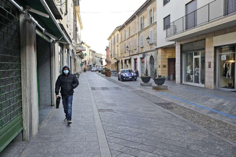 全球新型冠狀病毒(COVID-19、武漢肺炎)疫情延燒,位於歐洲的義大利21日也出現疫情惡化。(AP)