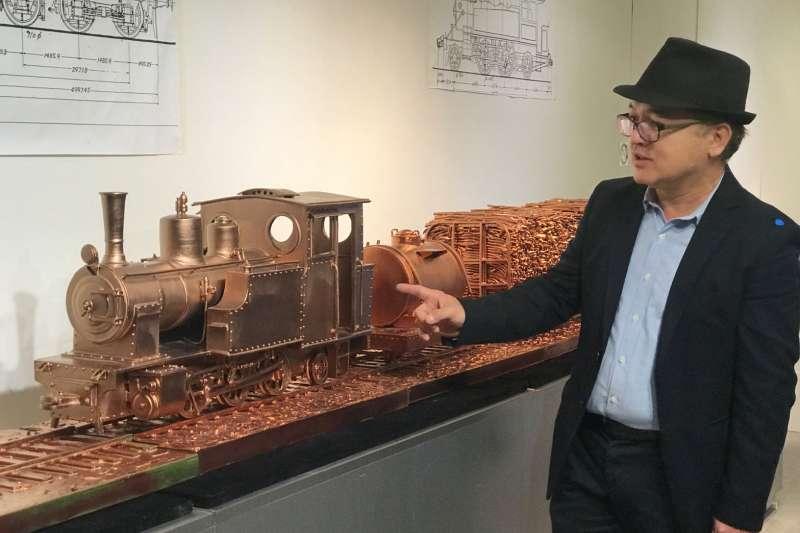 陶藝創作家謝嘉亨「經典世代—陶瓷創作展」於臺北當代工藝設計分館盛大開展。(圖/臺北當代工藝設計分館提供)