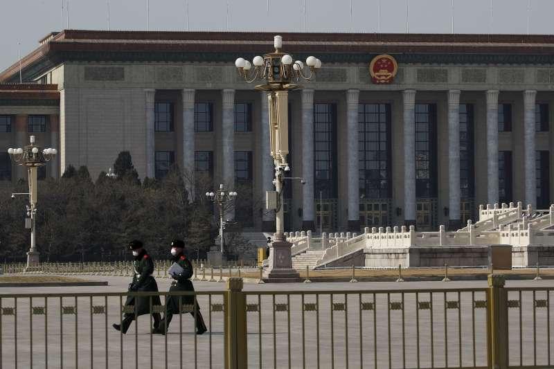 武漢肺炎:中國全國人民代表大會(人大)延期舉行,圖為人民大會堂(AP)