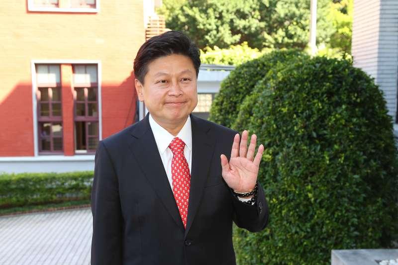 20200224-無黨籍立委傅崐萁24日接受媒體聯訪。(顏麟宇攝)