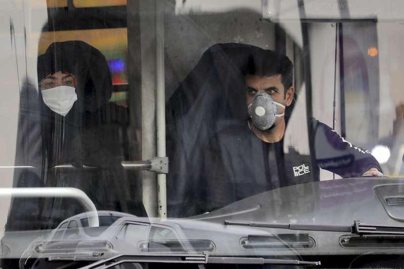 2020年,武漢肺炎(新冠肺炎)疫情在伊朗大規模爆發(AP)