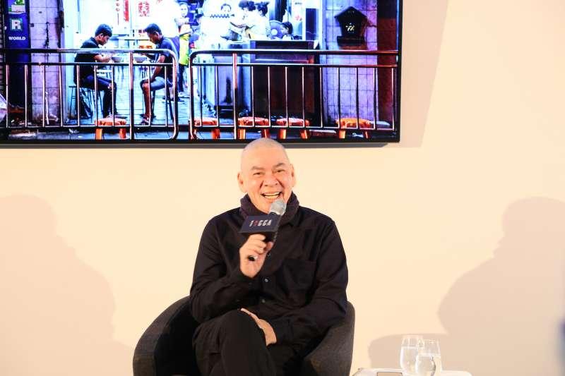 第70屆柏林影展即將頒獎,導演蔡明亮以新作《日子》入圍主競賽單元。蔡明亮於柏林時間24日傍晚,出席大師講座。(文策院提供)