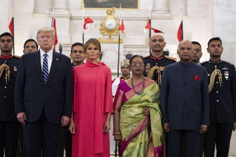 印度首都新德里2月爆發數十年來最嚴重宗教衝突,正值美國總統川普夫婦到訪印度期間。(AP)
