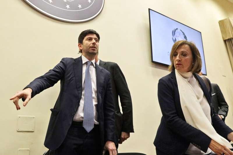 義大利衛生部長史佩倫札。(AP)