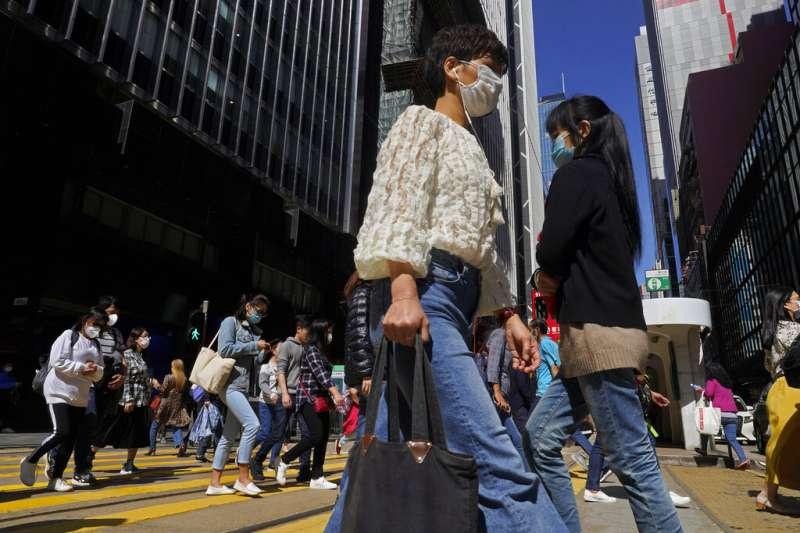 搞不定反送中的香港政府,在抗疫上表現出自己的能力。(美聯社)