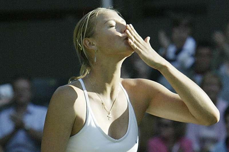 32歲的莎拉波娃宣布退役。(AP)