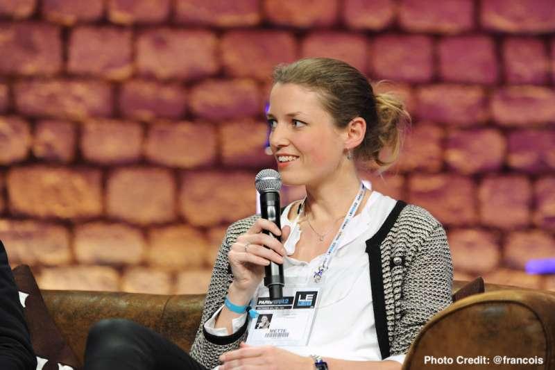創業家Mette Lykke曾是商業顧問、運動App創辦人,現在則是「惜食」公司執行長。(圖/創新拿鐵)