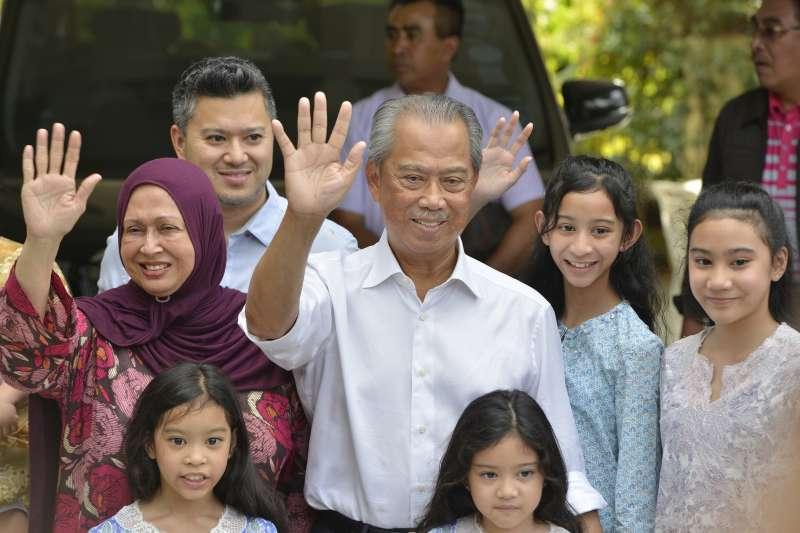 馬來西亞新任總理慕尤丁(Muhyiddin Yassin)(AP)