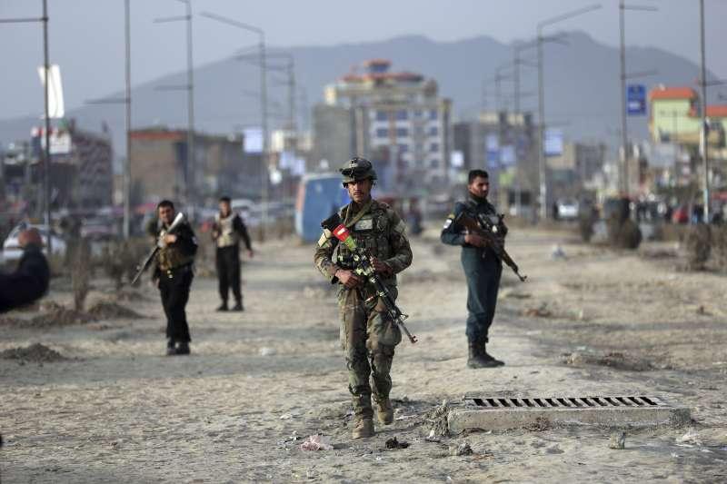 阿富汗戰爭。(AP)