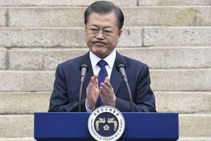 武漢肺炎疫情:南韓總統文在寅希望南北韓共同防疫(AP)