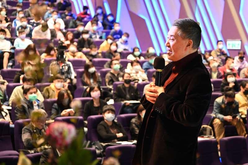 紅學大師白先勇4日在清大開講「紅樓夢」,吸引數百名清華學生到場聽講。(圖/清華大學提供)