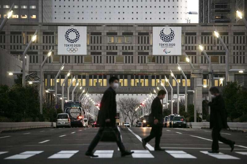東京奧運辦還是不辦,不到最後一刻恐怕沒人說的準。(美聯社)
