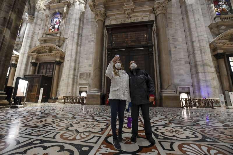武漢肺炎(新冠肺炎)疫情在義大利蔓延,觀光旅遊業遭重創(AP)