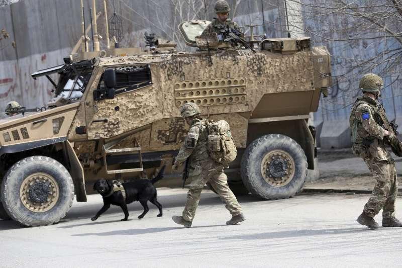 2020年3月6日,阿富汗首都喀布爾爆發大規模恐怖攻擊,造成 數十人死傷。(AP)