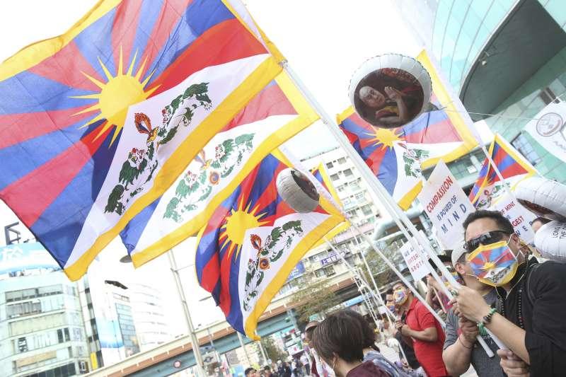 西藏抗暴61周年(AP)
