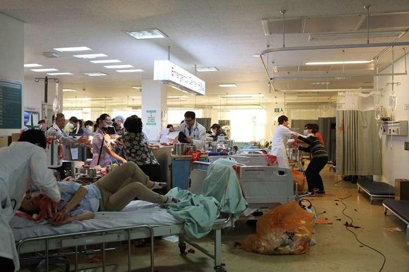 韓國瘟疫電影《戰疫》劇情與武漢肺炎疫情多有相似之處,令人看來不寒而慄。(圖/IMDb)