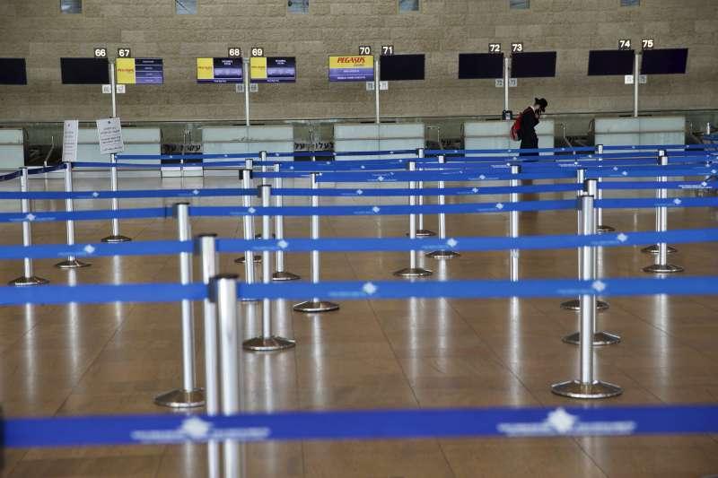 以色列自3月12日起,所有海外入境以色列者一律須隔離14天。(AP)