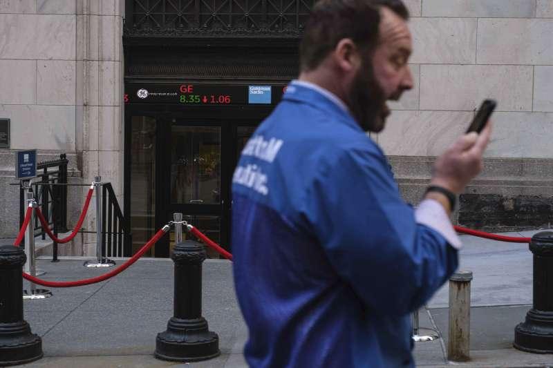 華爾街本以為能享受連續兩日大漲,想不到7日漲幅竟全數蒸發。(AP)