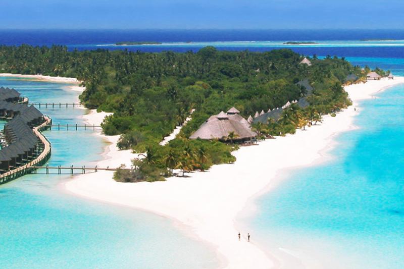 馬爾地夫出現4起武漢肺炎確診案例,全島飛機與船隻禁止出入。(圖/Kuredu Island Resort & Spa)