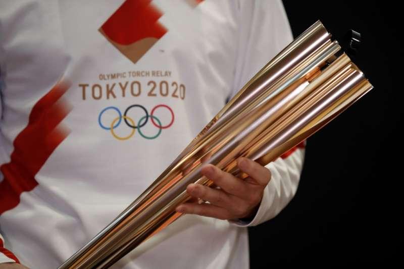 由於疫情肆虐,東京奧運聖火將以無觀眾方式實施。(美聯社)