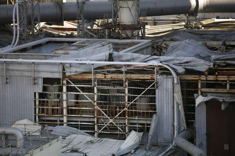 福島第一核電廠2020年的現況。(美聯社)