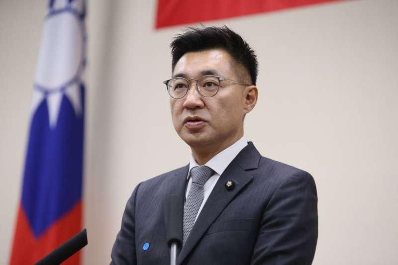 江啟臣當選主席後,沒收到中國國家主席習近平賀電,反而讓他鬆了一口氣。(資料照,柯承惠攝)