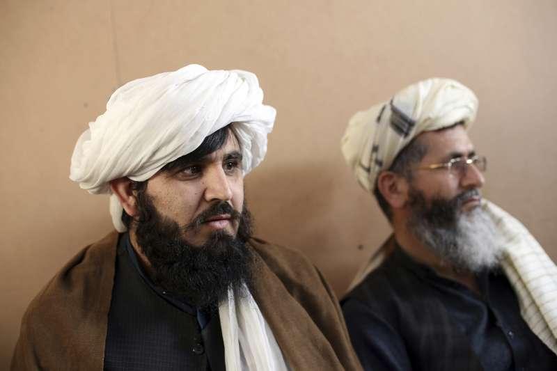 阿富汗恐怖組織「神學士」被囚成員。阿富汗政府同意釋放1500名囚犯,作為和談準備。(AP)