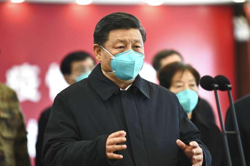 中國國家主席、中國共產黨總書記習近平(見圖)正在透過「一帶一路」輸出防疫的「中國經驗」(資料照,美聯社)