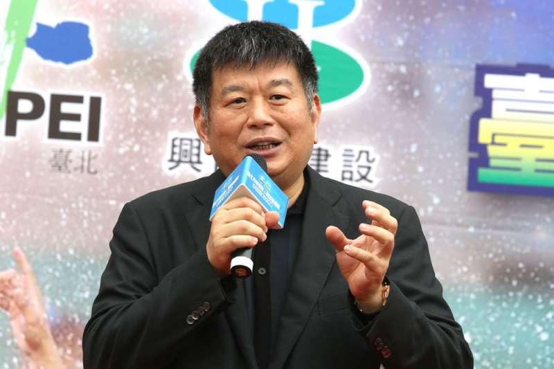 興富發總裁鄭欽天表示,房價不會因疫情而下跌。(林瑞慶攝)