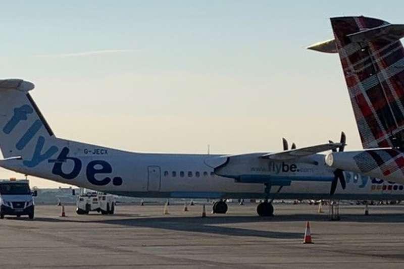英國的弗萊比航空(Flybe)經營著馬恩島和曼徹斯特、利物浦和伯明翰之間的航班。(BBC中文網)