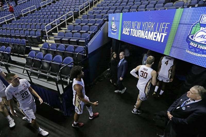 NCAA在13日宣布取消所有錦標賽。(美聯社)
