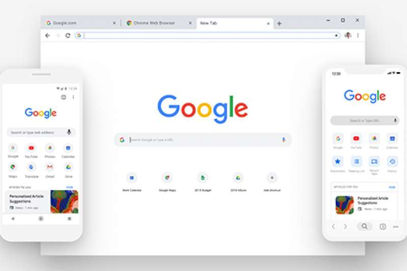 google chrome 瀏覽器。(取自google chrome臉書)