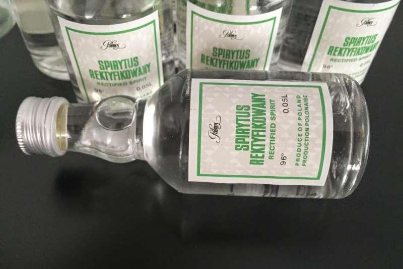 波蘭生命之水伏特加Spirytus Rektyfikowany Rectified Spirit Vodka(圖片來源:網路)