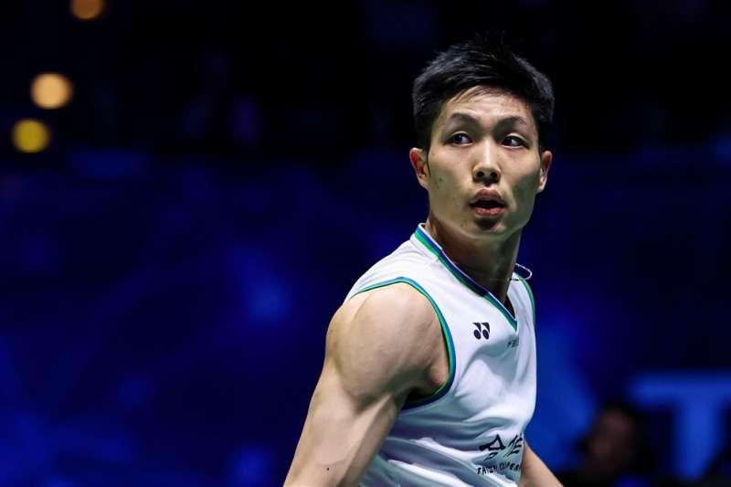台灣羽球一哥周天成闖進全英羽球公開賽男單決賽,是他生涯首度有機會在全英羽球公開賽爭冠。(圖取自twitter.com/bwfmedia)
