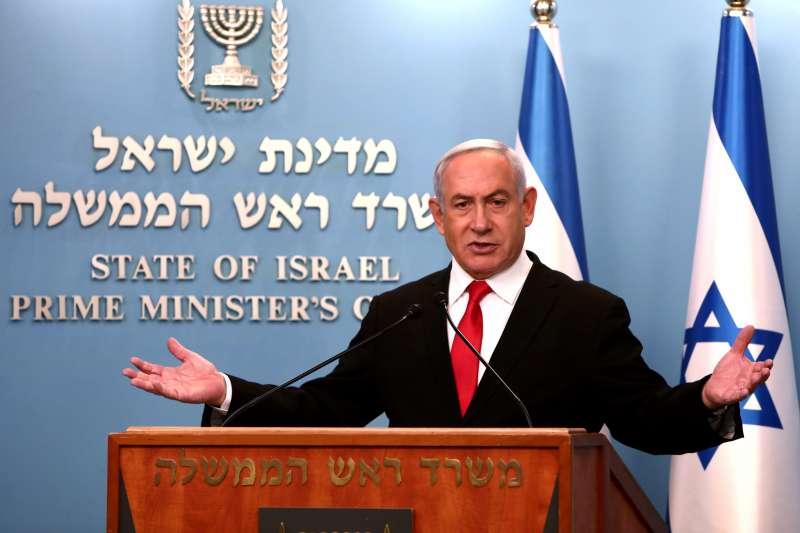 武漢肺炎:以色列總理納坦雅胡說,要學台灣利用科技追蹤感染者(AP)