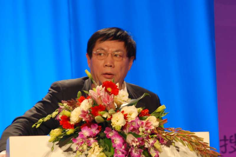 中國富商任志強(Wang65@Wikipedia/CC BY-SA 3.0)