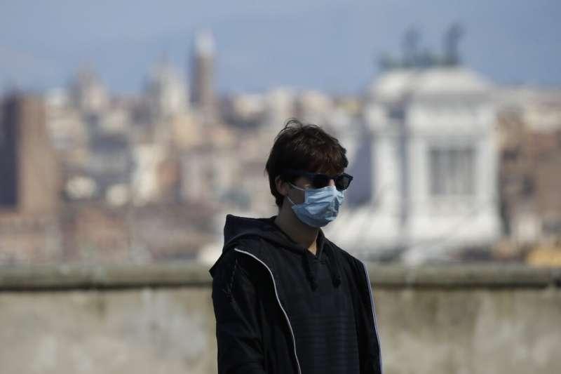 義大利疫情持續惡化,羅馬民眾也減少上街。(美聯社)