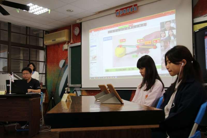 全台國高中小學可透過教育部的「教育雲」,進行遠距教學。(圖為台東縣政府提供)