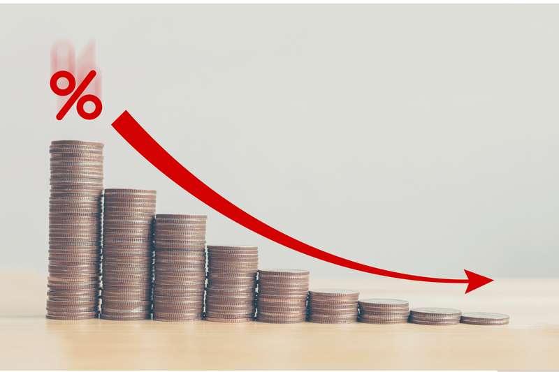 Fed降息4碼,零利率是不是錢存銀行沒利息可以領了?(圖片來源/作者提供)